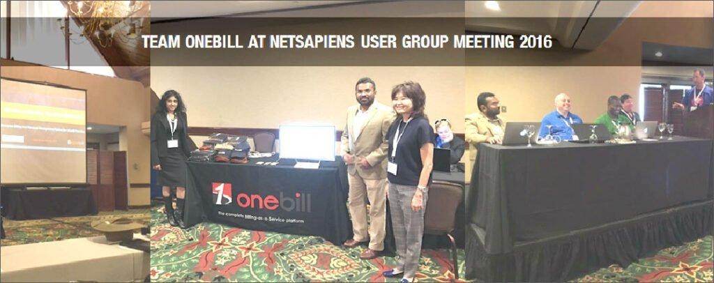 OneBill at NetSapiens UGM 2016