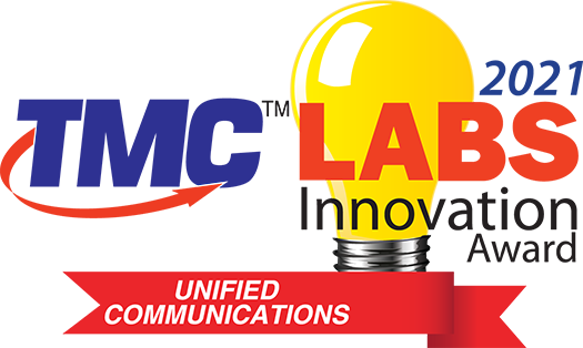 TMC Labs' Unified Communications Innovation Award 2021